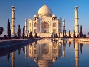 taj mahal,seven wonders of world